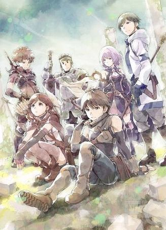 Гримгал пепла и иллюзий / Hai to gens no Grimgar (2016)